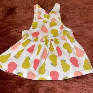 Baby Girl Summer Pear Pattern Dress!